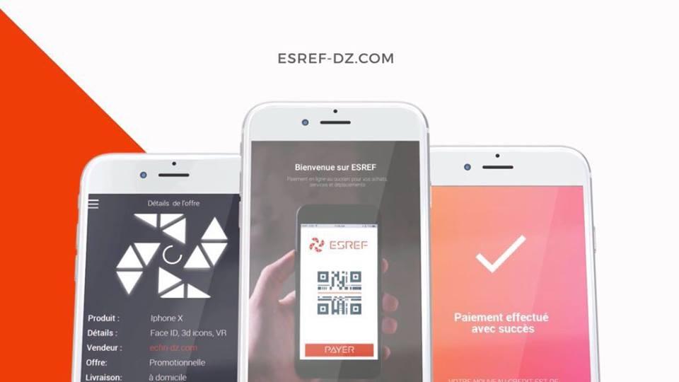ESREF Pay nouvelle solution de paiement en Algérie